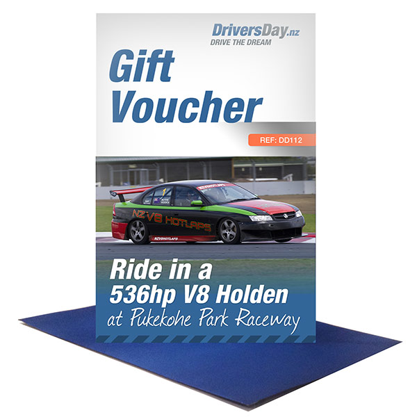 holden v8 pukekohe hot lap gift voucher