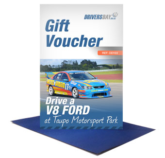 V8 Ford Driving Experience Gift Card