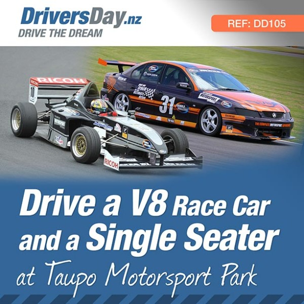 Drive V8 and Single Seater Racecar