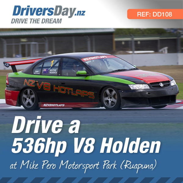 drive a v8 holden at christchurch