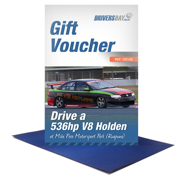 gift voucher driving experience v8 holden at christchurch