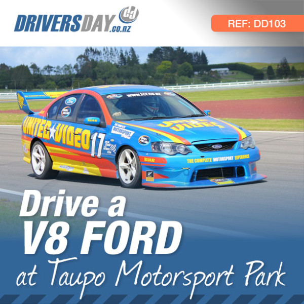 V8 Ford Driving Experience at Taupo Motorsport Park