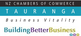 PROUD TO BE PART OF THE TAURANGA BUSINESS COMMUNITY