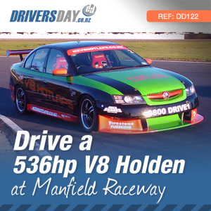 V8 Holden Driving Experience at Manfield, Manawatu