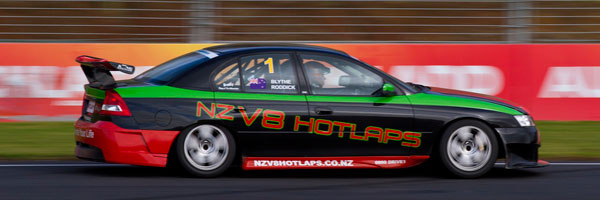 V8 Holden Hot Lap Ride at Manfield, Manawatu