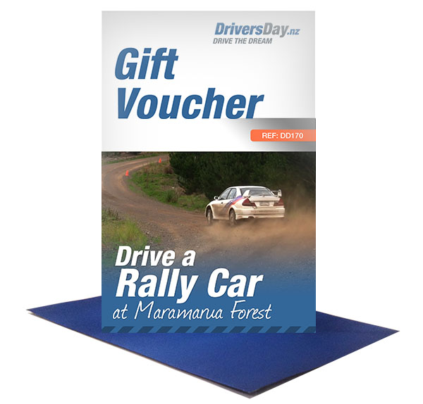 drive a rally car voucher