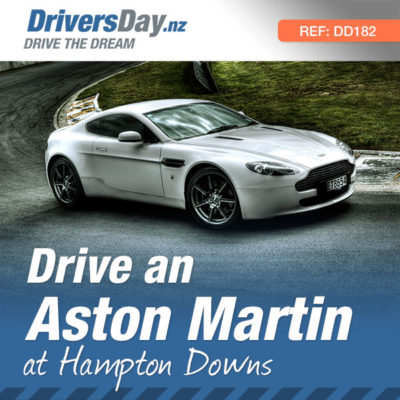 Drive an Aston Martin at Hampton Downs